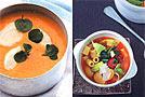 Suppenrezepte: Löffeln, bis es warm wird!