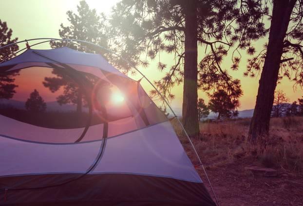 Single mit Kind: Zelten auf Sardinien