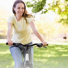 Ausdauertraining: Radfahren und fit werden - mit