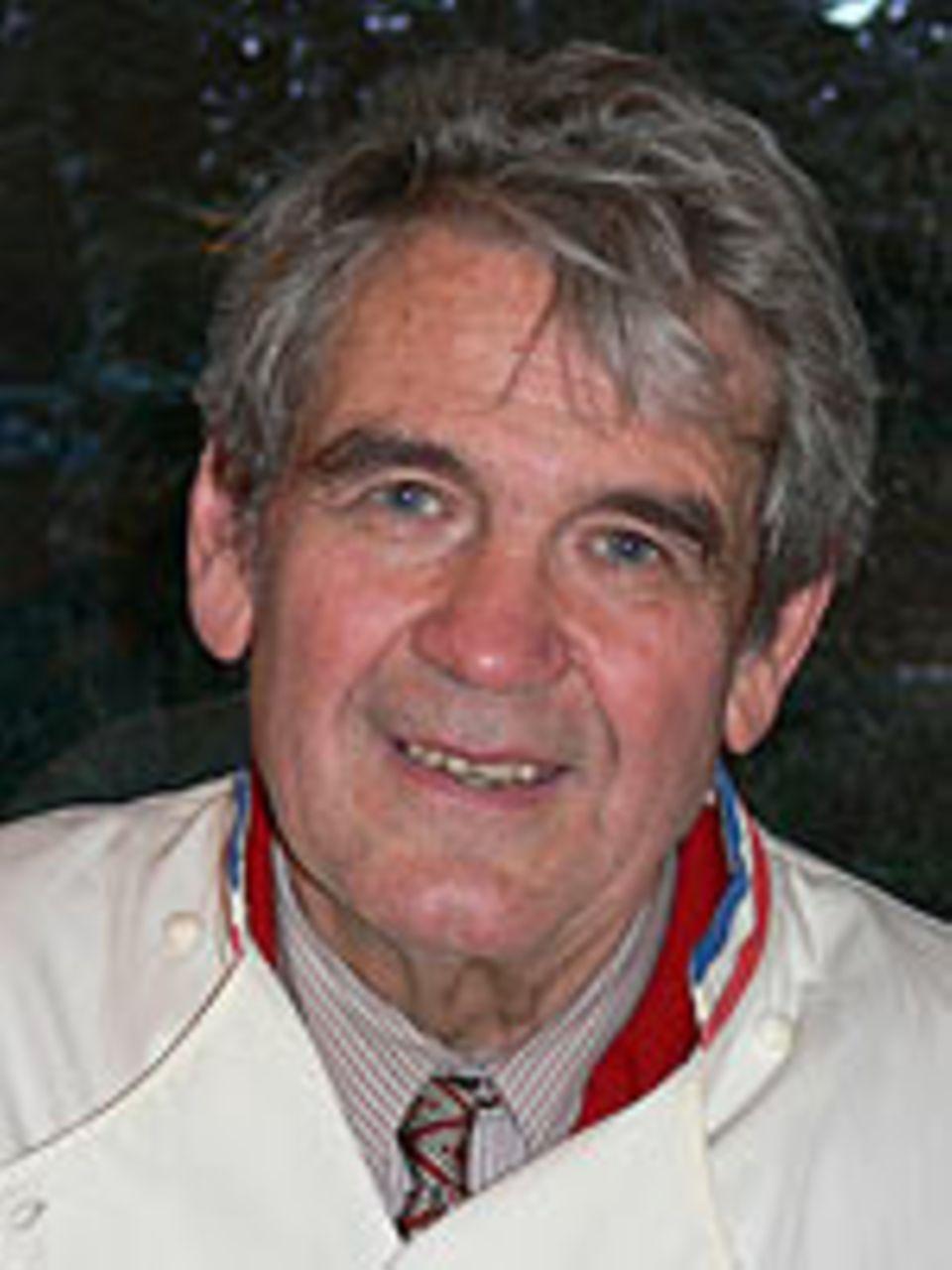 Der Hamburger Koch Rudolf Klingbiel.