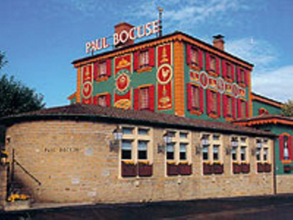 Bocuse' Restaurant in der Nähe der französischen Stadt Lyon.