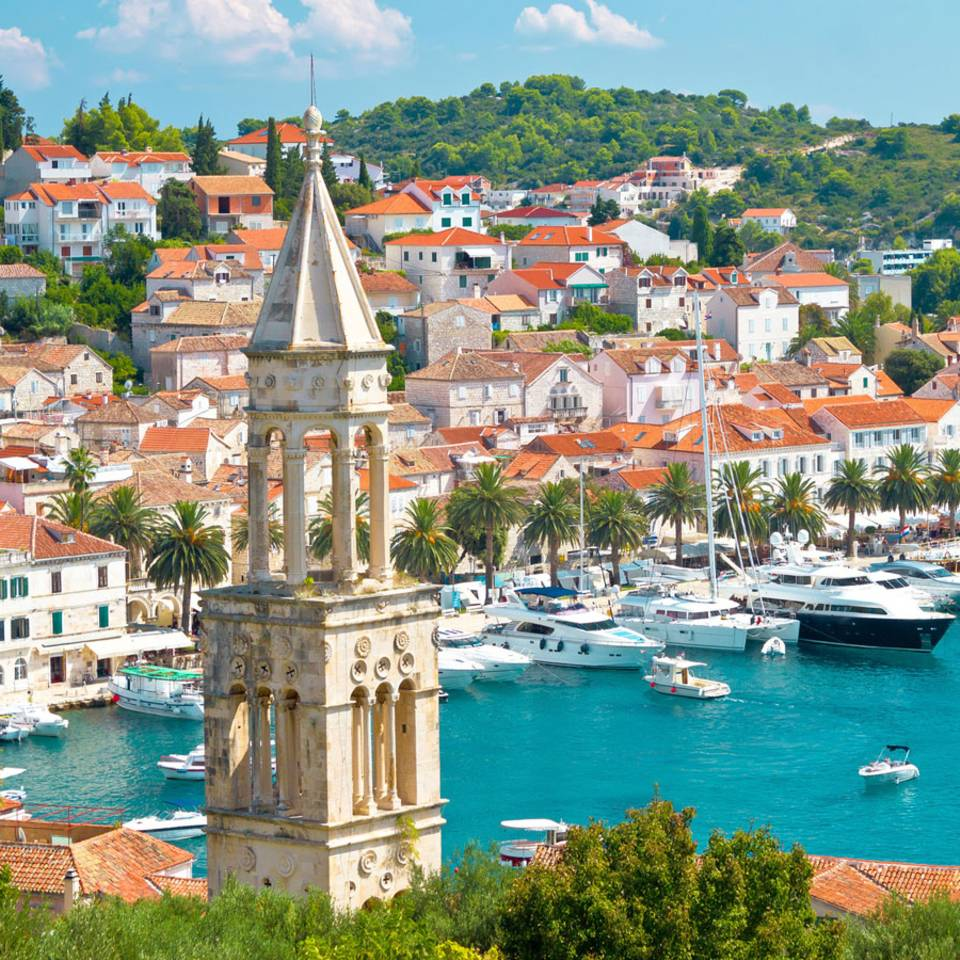Inselhüpfen in Kroatien - immer schön treiben lassen