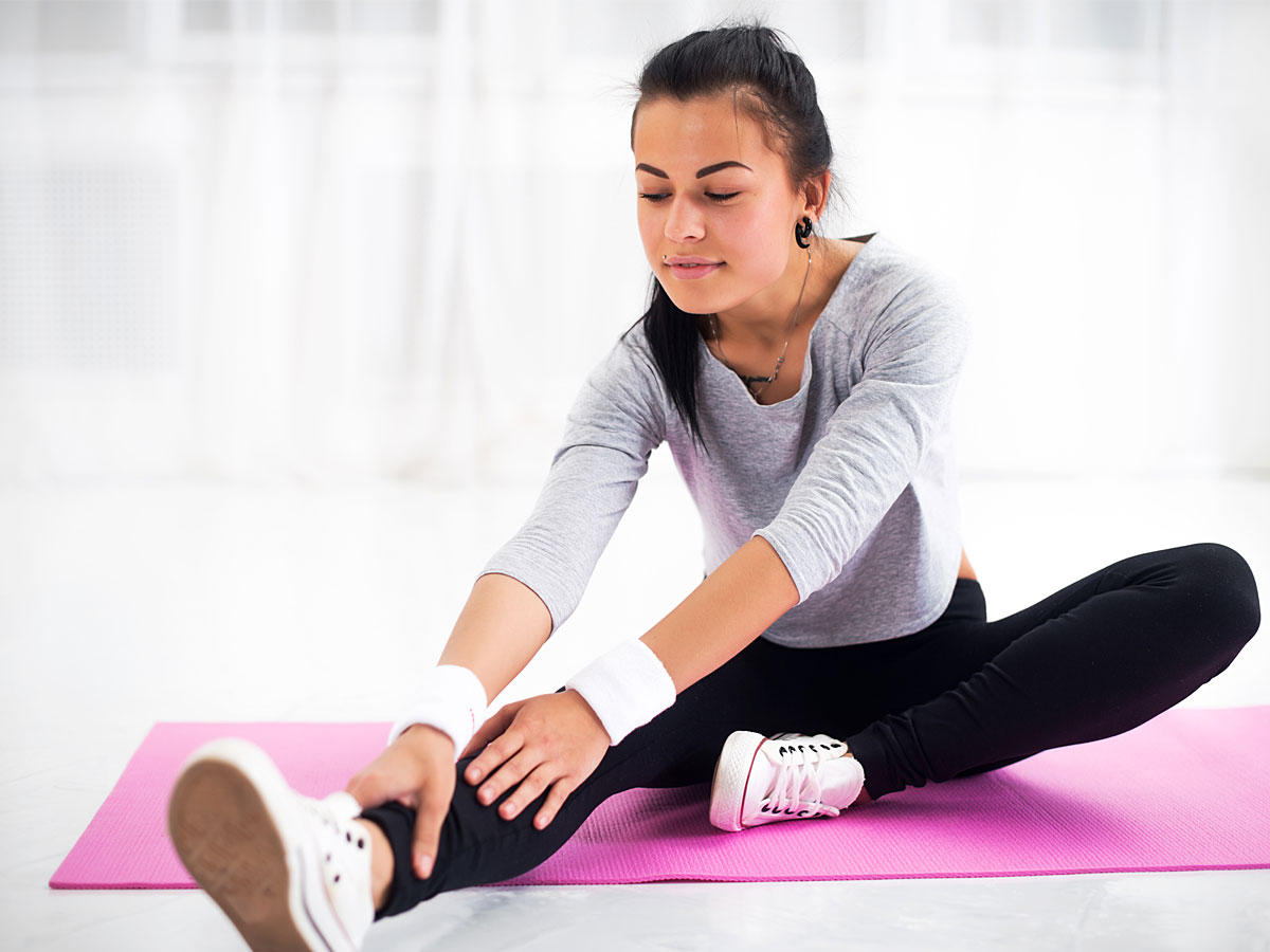 Balance-Aerobic für einen starken Rücken