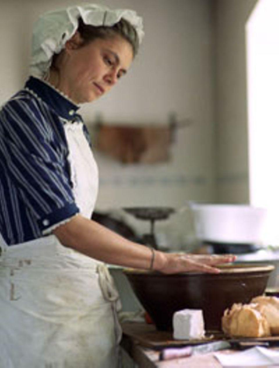 Sarah Wiener in ihrem Element: Kochen