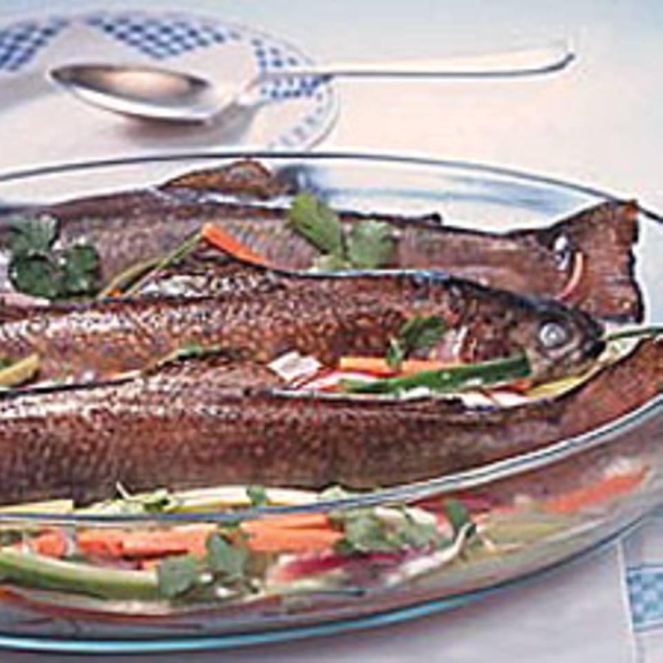 Wir kochen mit Fisch!