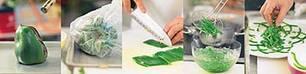 Matjes auf Bohnen-Paprika-Salat