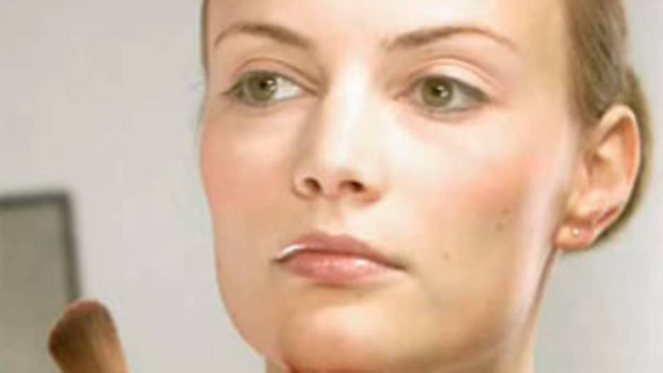 Make Up Tutorial Schminkschule Markantes Kinn Kaschieren Brigittede