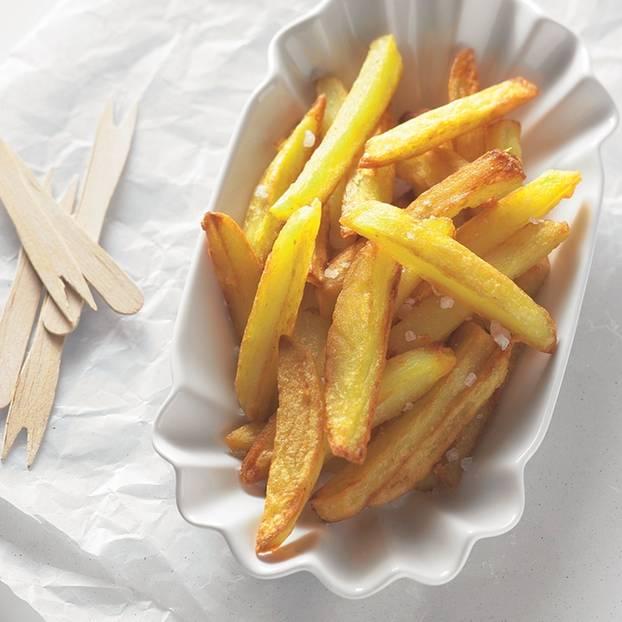 Pommes Frites - raffiniert aus dem Ofen