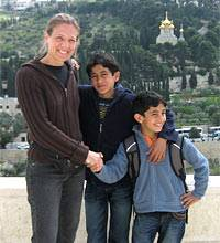 Straßenbekanntschaften: Petra in Jerusalem