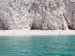 Einsame Bucht bei Agios Georgios