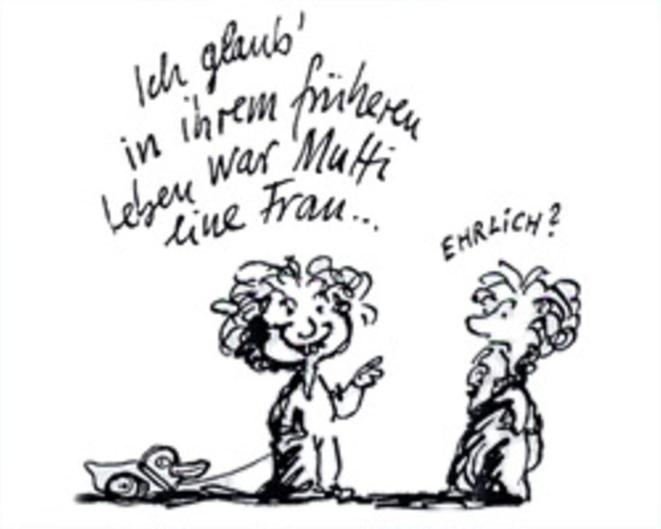 """Muttertag: Verwandlung in """"das Mutti"""""""