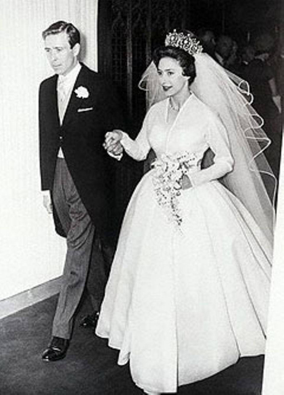 Prinzessin Margret und Lord Snowdon am 6. Mai 1960