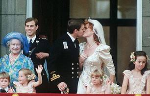 Sarah Ferguson und Prinz Andrew am 23. Juli 1986
