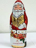 Weihnachtsmänner aus Schokolade im Test: Kopf-an-Kopf-Rennen