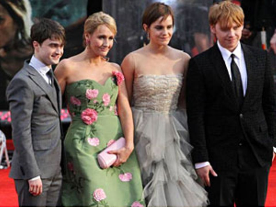 """J.K. Rowling und die """"Harry Potter""""-Crew: Mut ist eine ihrer besten Eigenschaften"""