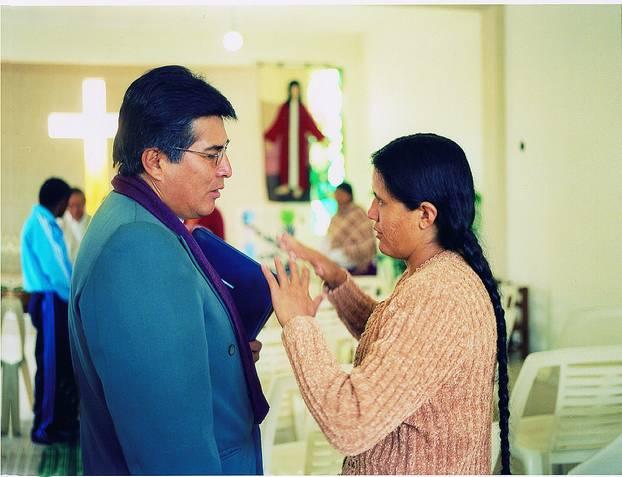 Casimira Rodriguez und der evangelische Pfarrer, für den sie lange und auch gern gearbeitet hat