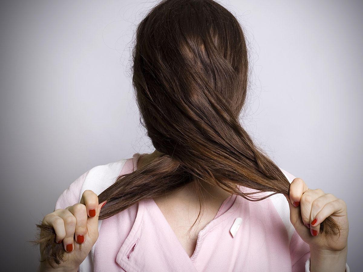 Trockene und strapazierte Haare? Das hilft!