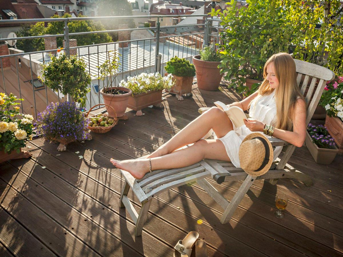 Sommer auf dem Balkon - so wird er stressfrei!