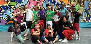 Treffen der Rap-Girls