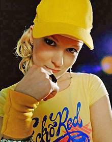 MC Pyranja, 30, geboren in Rostock, seit 2001 im HipHop-Geschäft. Sie hat ein eigenes Label gegründet und drei Soloalben herausgebracht.