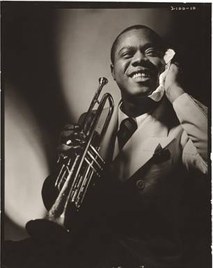 Louis Armstrong by Anton Bruehl 1935 Vanity Fair, November 1935