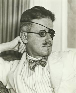 James Joyce by Berenice Abbott 1926 (unpublished)