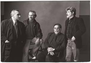 Directorial Titans by Annie Leibovitz 1996, L-R: Martin Scorsese, Steven Spielberg, Francis Ford Coppola, George LucasVanity Fair, April 1996