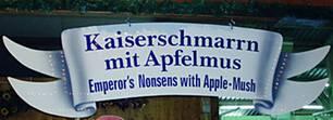 Gesehen im Löwenbräu-Zelt auf dem Münchner Oktoberfest