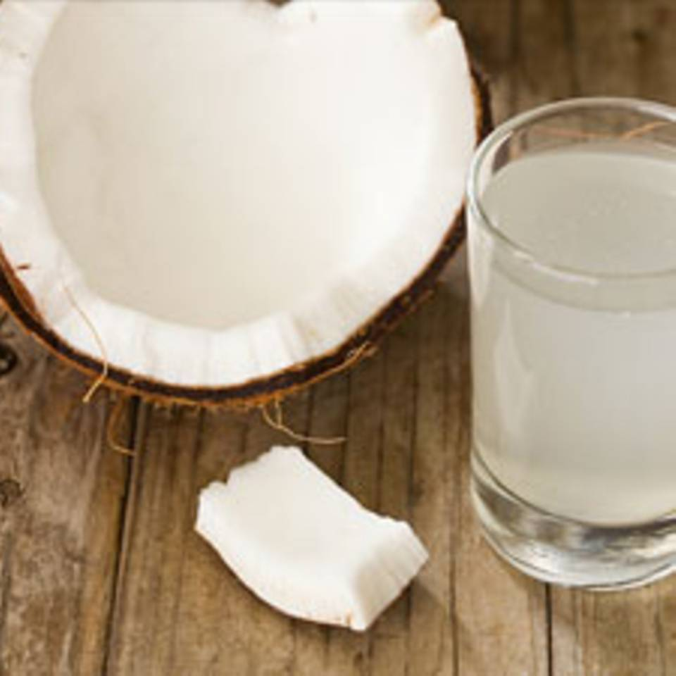 Kokosnusswasser - das ideale Sportgetränk