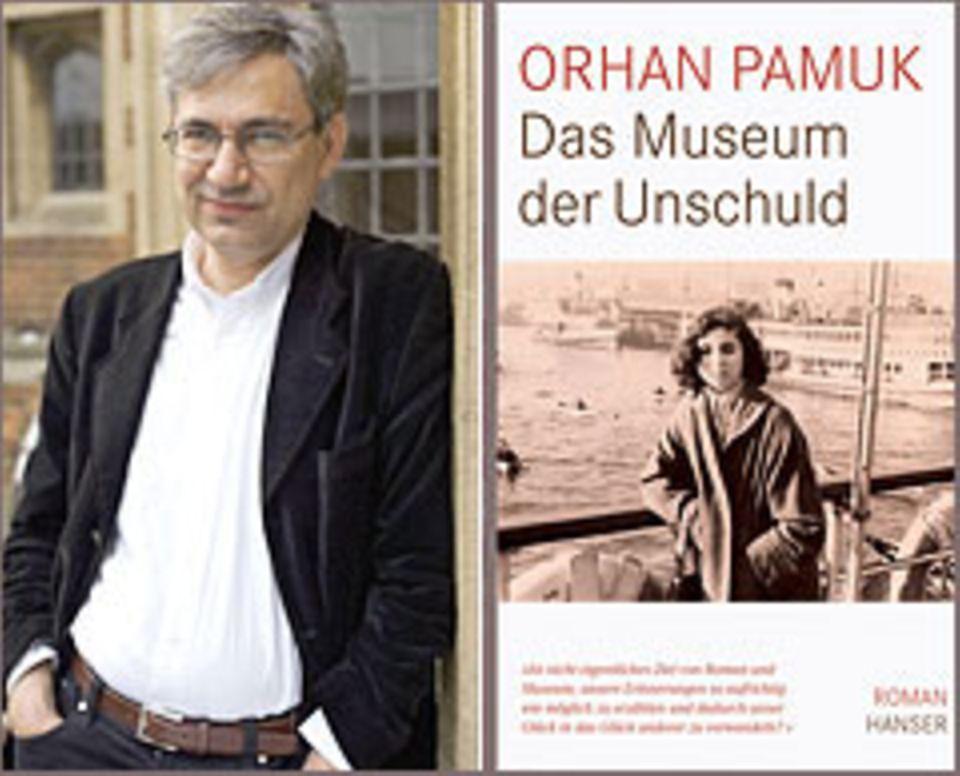 Orhan Pamuk, Das Museum der Unschuld, Ü: Gerhard Meier, 560 Seiten, 24,90 Euro