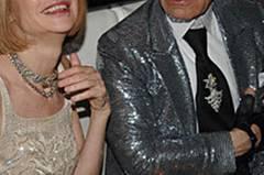 Modegrößen unter sich: Karl Lagerfeld und Vogue-Chefin Anna Wintour in New York.
