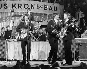 The Beatles am 20. November 1963 in München