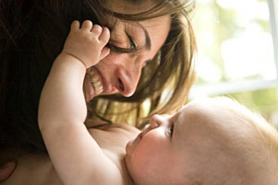 Spätes Babyglück: Mutter mit 40