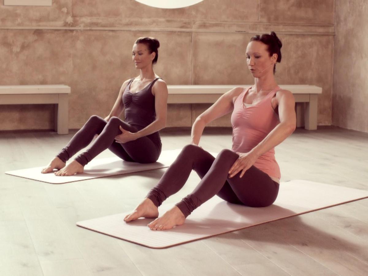 Pilates sorgt für eine bewegliche Wirbelsäule