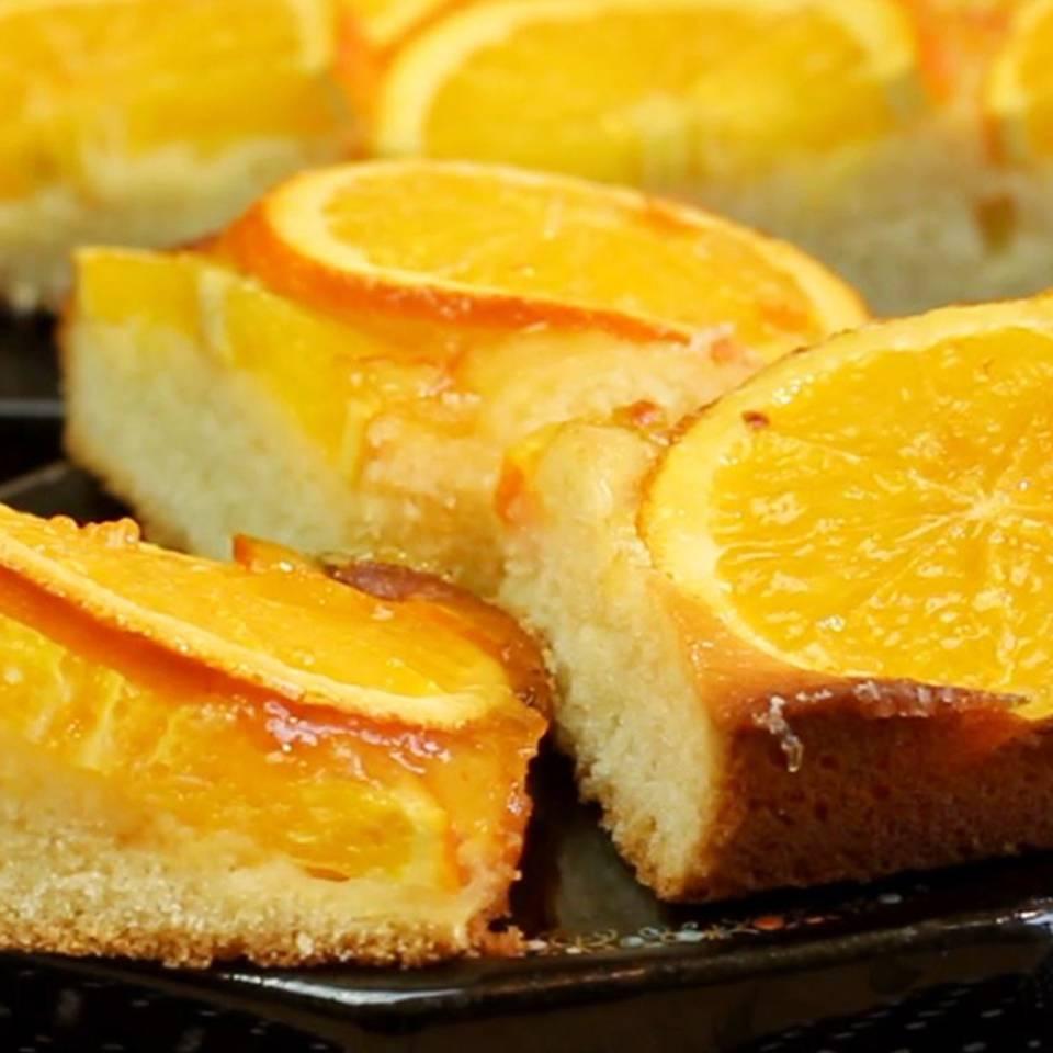 Aromatischer Orangenkuchen