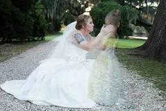 Warum dieses Brautfoto um die Welt geht