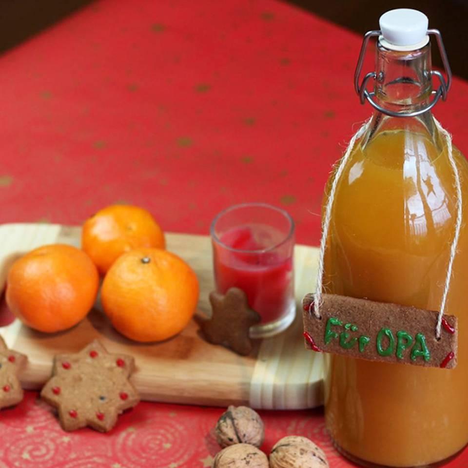 Mandarinenlikör selber machen - köstlich!