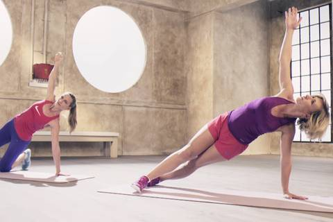Core-Training für Bauch und Rücken