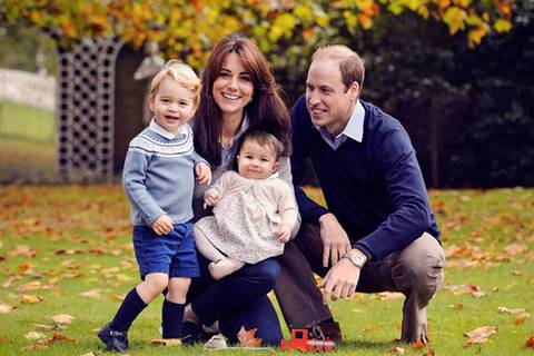 Zu niedlich: Royal Family posiert für Weihnachtsfoto