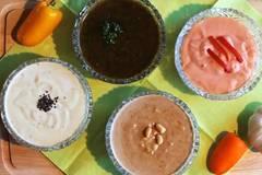 Schnelle Dips für Raclette und Fondue