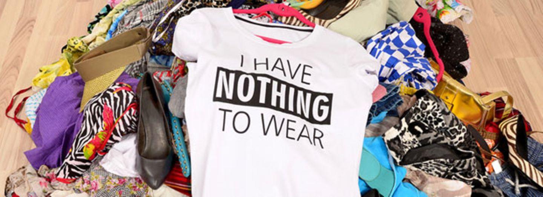 Hört endlich auf, eure Klamotten wegzuwerfen!