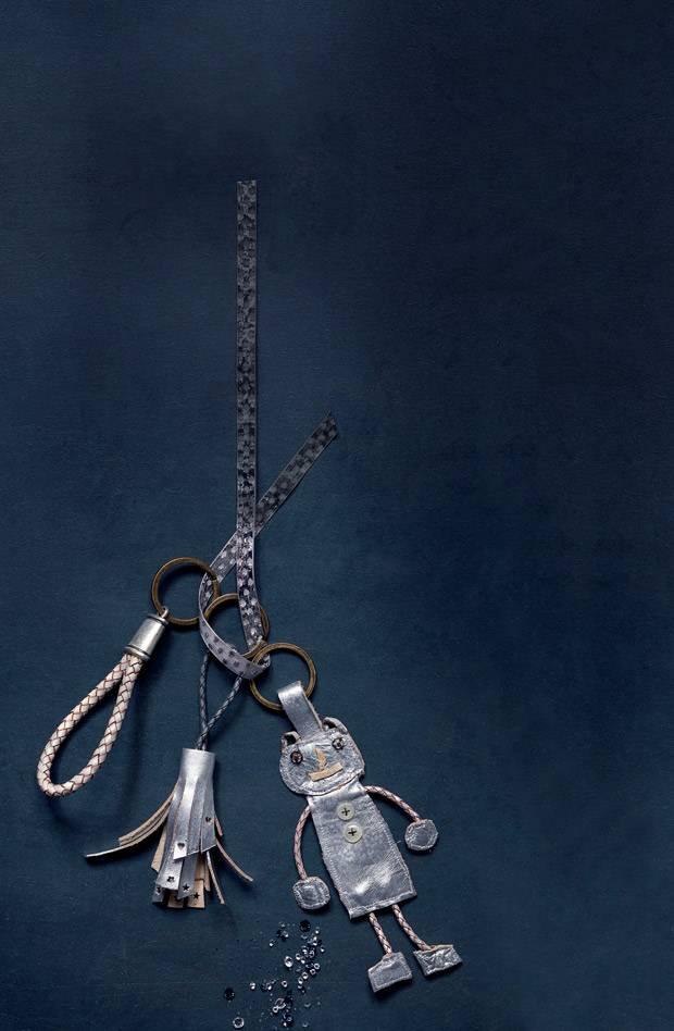 Perfekt Schlüsselanhänger Mit Geflochtenem Lederband Selber Machen   Das Braucht  Ihr: