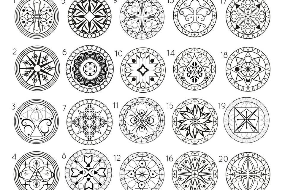 Welches Mandala spricht dich an? Es verrät, was jetzt für dich wichtig ist
