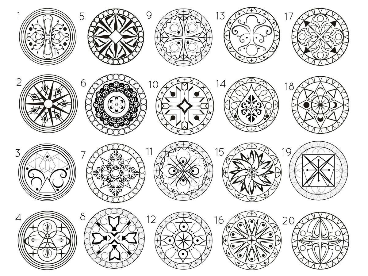 Weisheiten: Welches Mandala spricht dich an? Es verrät, was jetzt ...