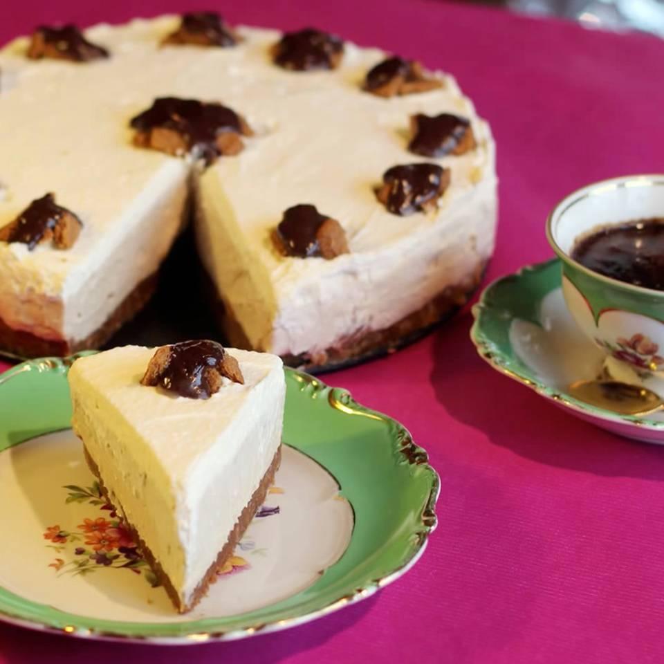 Erdnuss-Bananen-Torte ohne Backen
