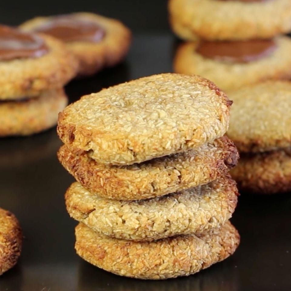 Cookies mit zwei Zutaten