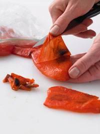 Gemüse: Paprika häuten