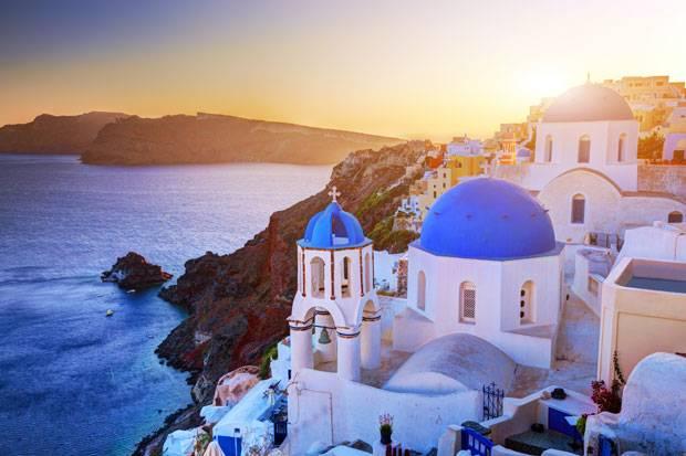 Griechenland Urlaub Auf Santorin 100 Prozent