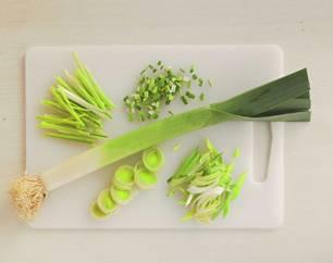 Gemüse: Lauch schneiden - so geht's!