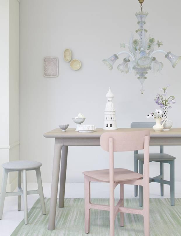 einrichten wohnen mit pastellt nen elegant und leicht. Black Bedroom Furniture Sets. Home Design Ideas